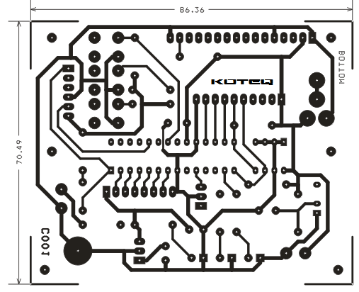 pic16f-28-pin-pic-development-board-with-lcd-pcb-bottom