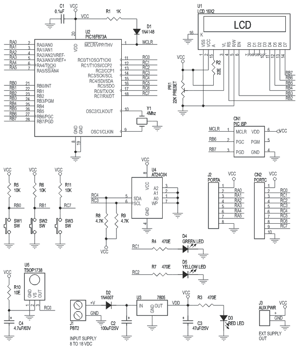 pic16f-28-pin-pic-development-board-with-lcd-schematic