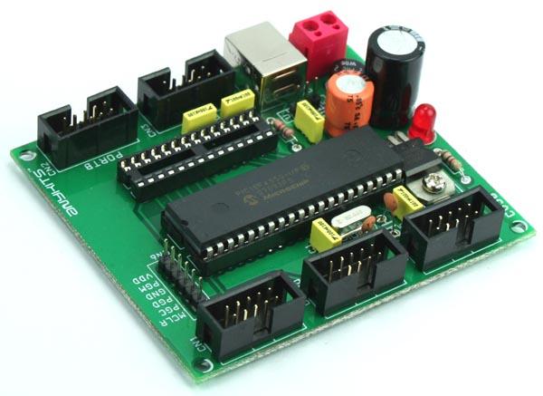 pic18f-development-board-using-pic-18f4550-18f2550-2
