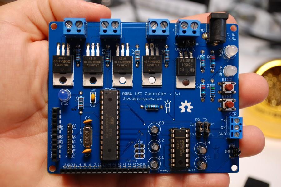 RGBW LED Controller v3.1