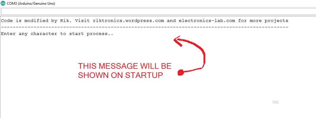 startup_message