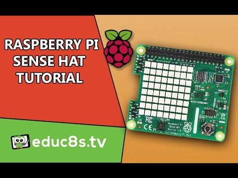 A first look at Sense Hat add-on board for the Raspberry Pi