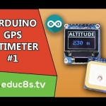 DIY Altimeter using a NEO UBLOX GPS module and a Color OLED