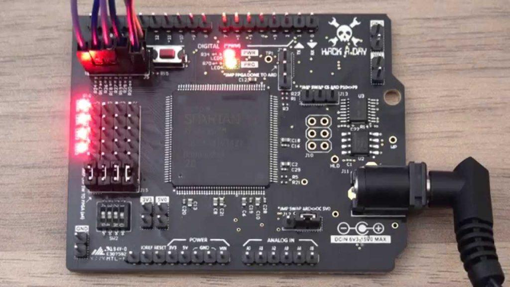 FPGA-Based Arduino Shield