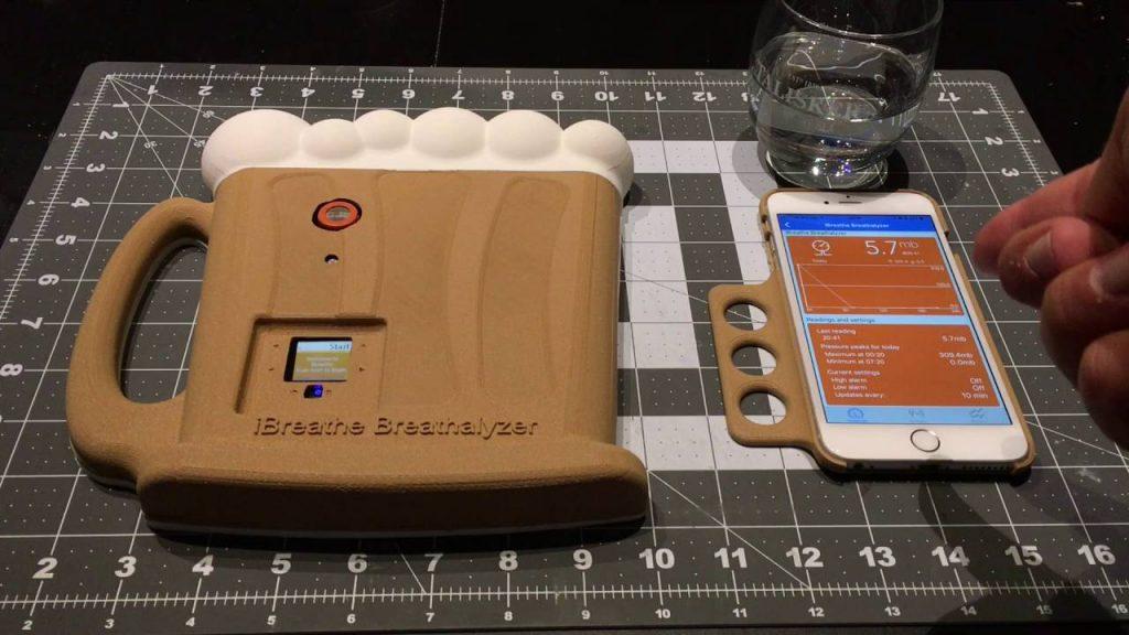 iBreathe, A Breathalyzer Based on Hexiwear