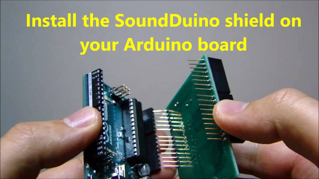 SoundDuino 3, The Latest Sound Shield for Arduino