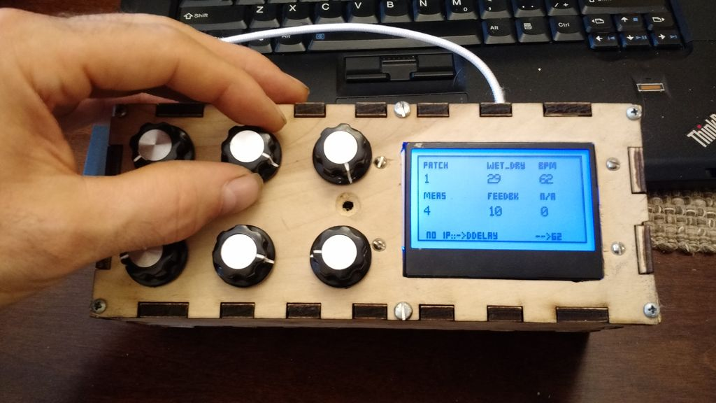Raspberry Pi based audio processor