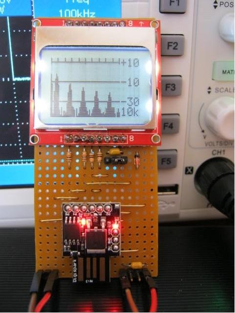 DIY Spectrum Analyser - Electronics-Lab