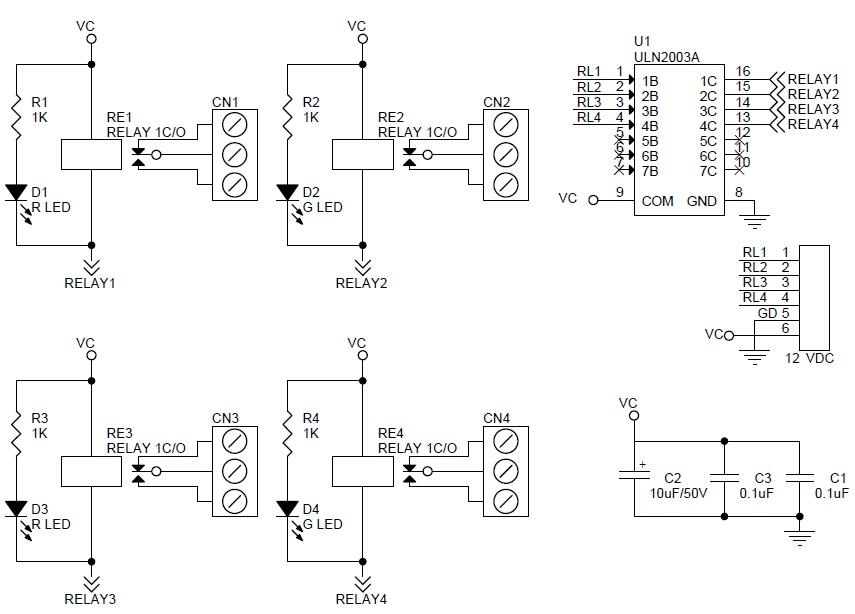 4-channel-relay-board-sch