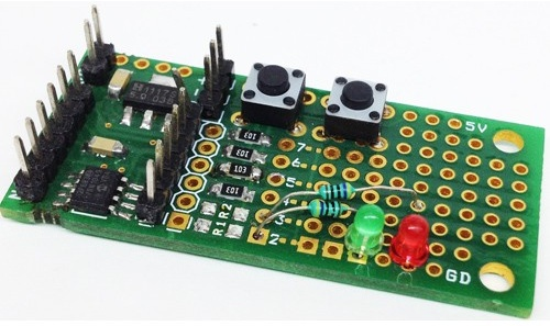8 PIN PIC Development Board – PIC12F683