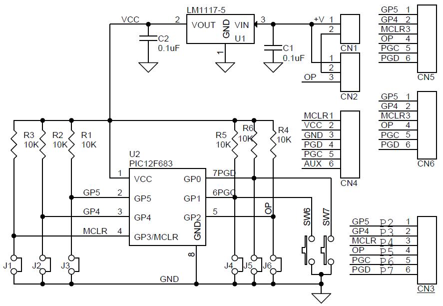 8-pin-pic-development-board-sch