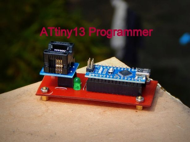 How to make an Attiny13 Programmer