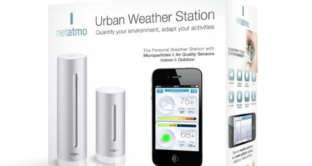 Dual Screen Netatmo Weather Station