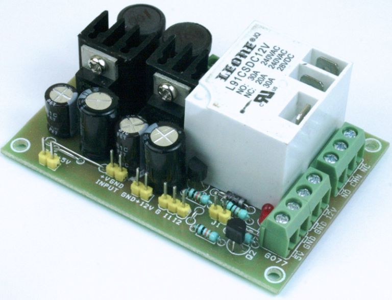 Large Current Relay with Dual Output DC-DC Converter for Hobby CNC/Router