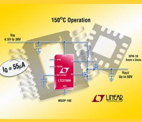 LTC3786 – Efficient boost controller takes the heat
