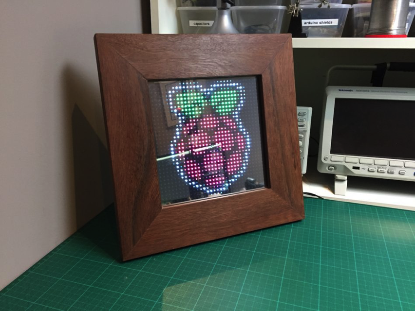 DIY Pixel Art Frame Using Raspberry Pi Zero