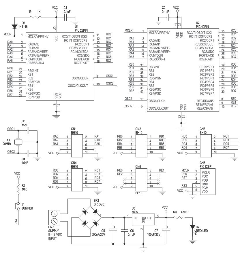 pic16f-28-40-pin-development-board-schematic