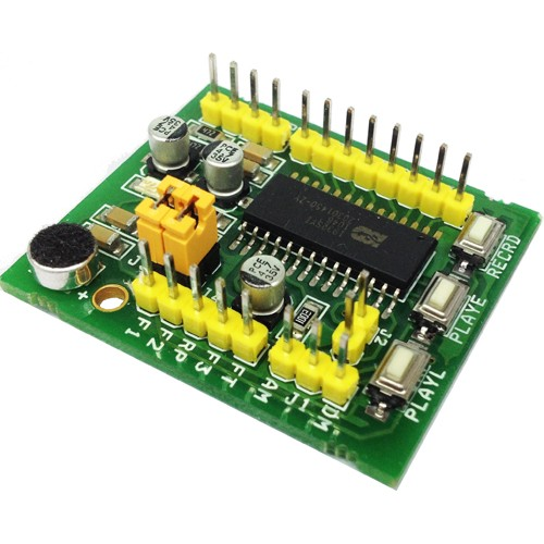 Voice Record/Playback module using ISD1932 or ISD1964