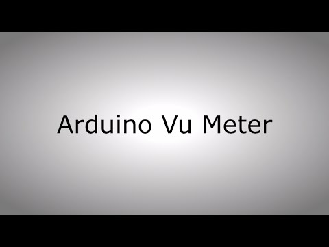 Arduino-Based VU Meter - Electronics-Lab