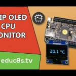 CHIP Computer Project: CPU Temperature Monitor with OLED display SSD1306