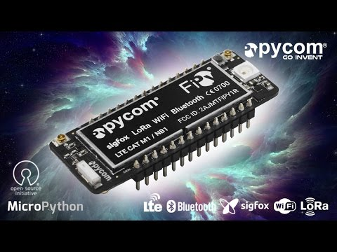 FiPy, The Future IoT Module