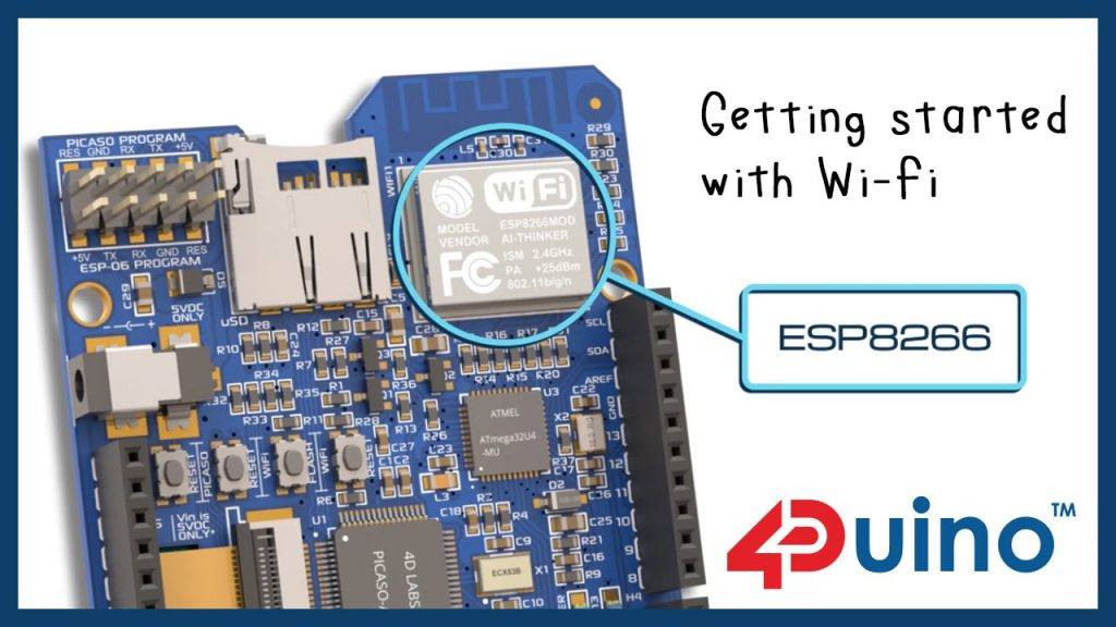 Getting Started with 4Duino Wi-Fi