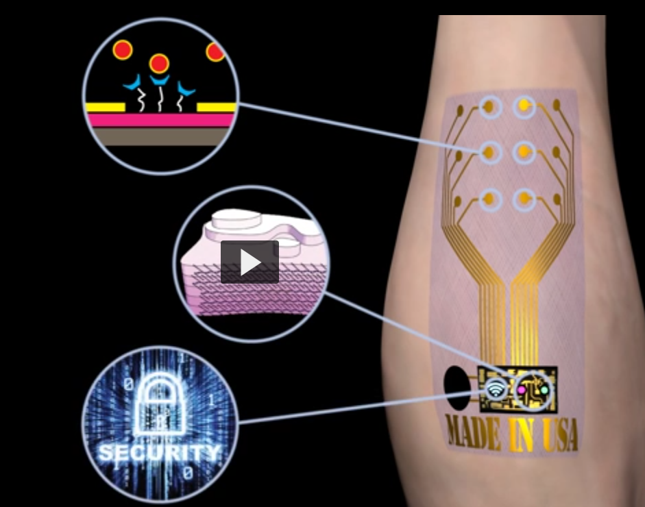 Conductive Plastic Holes For Wearables