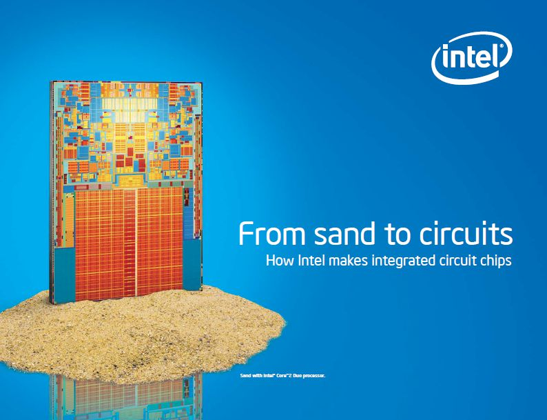 From Sand to Circuits – How Intel makes integrated circuits [PDF]
