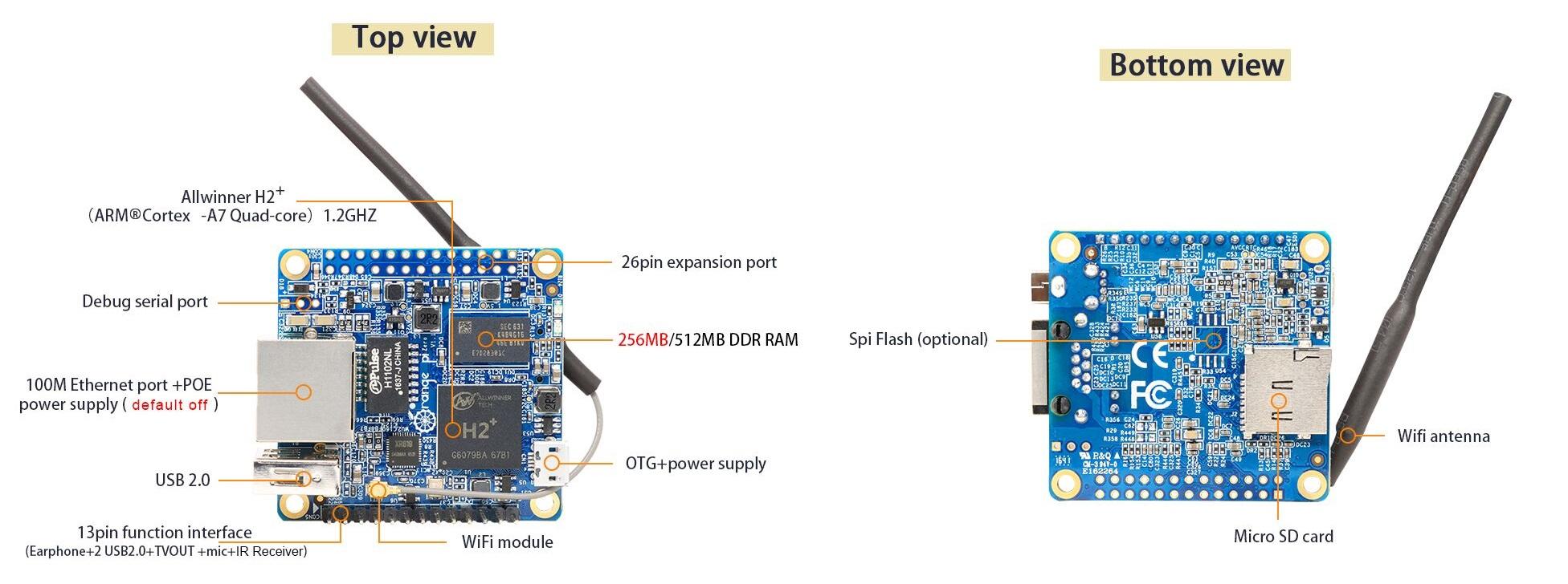 Two New Orange Pi IoT Boards