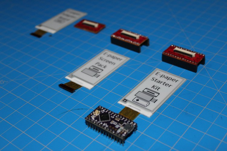 E-paper Shield Kit for the Teensy