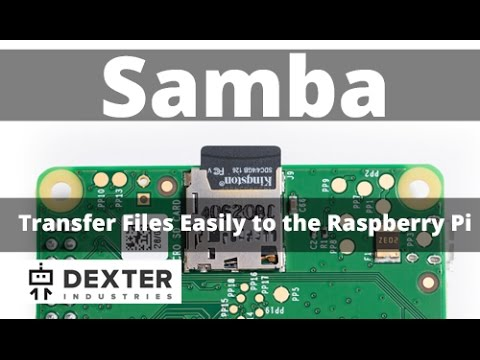 Transfer Files Between Raspberry Pi and Computer