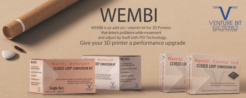 Meet Wembi – The World's First, Closed Loop Conversion Kit for 3D Printer