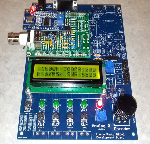 Build Your Own Cheap Antenna Analyser - Electronics-Lab