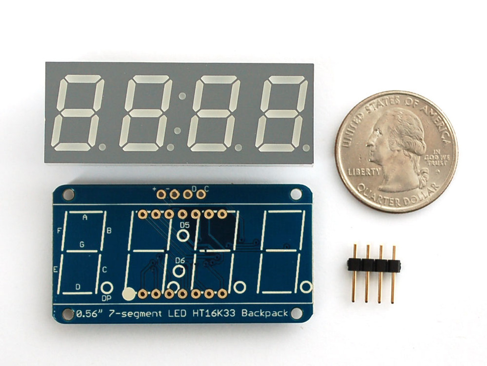 Making An Arduino I2C Digital Clock