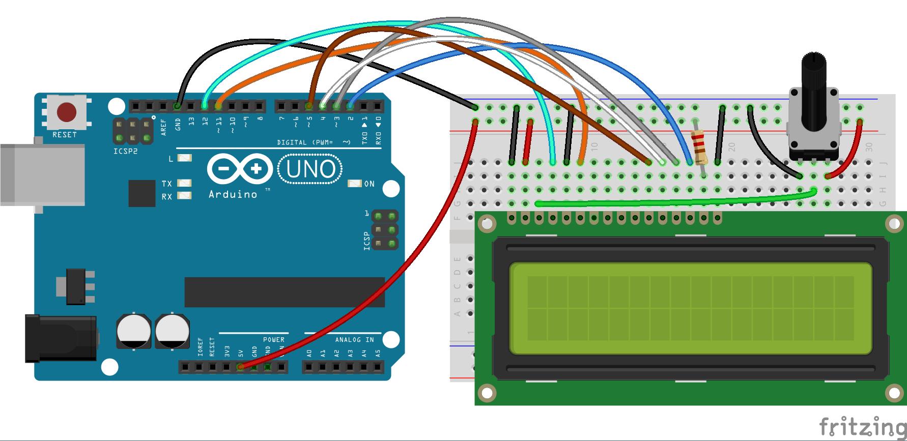 Menu driven interface for Arduino - YouTube