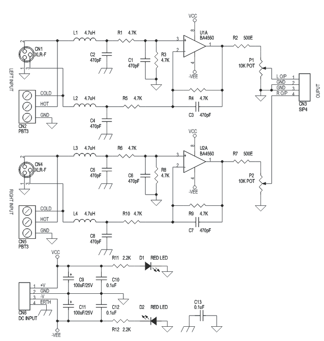 balanced-audio-pre-amplifier-schematic