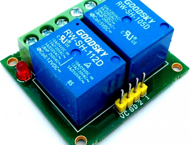 Dual Relay Board Using SMD Components