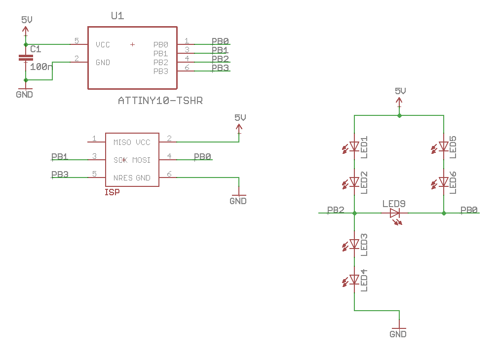 Circuit Diagram of DICE10