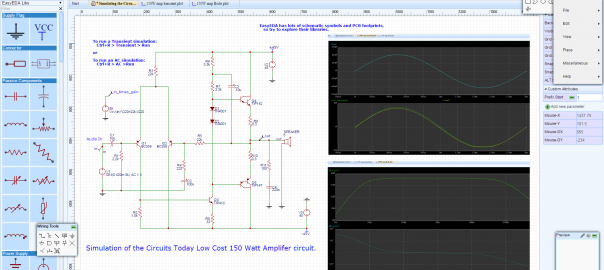 easyeda online circuit simulator