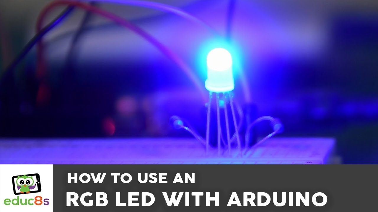 How to use an RGB LED with Arduino