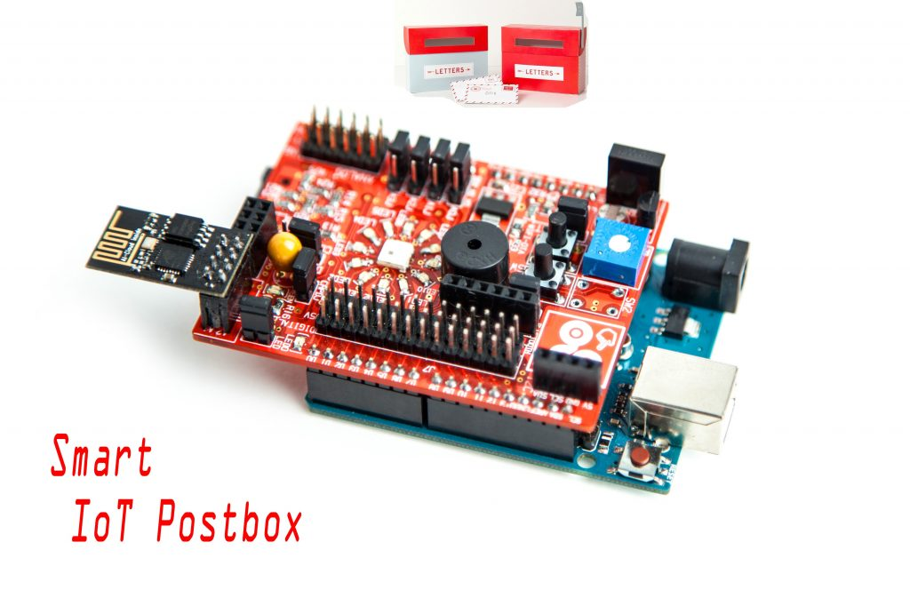 Smart IoT Postbox with Arduino, ESP-01, and idIoTware Shield