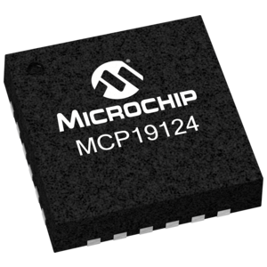 MCP19124 PWM Controller - 24 Pin QFN Package