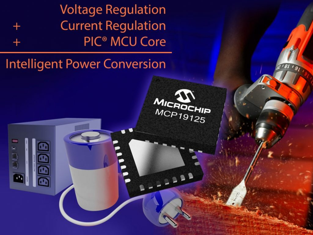 New PWM controller IC By Microchip Charges Batteries of Any Chemistry