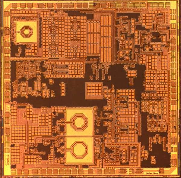Software Defined Radio IC Decap