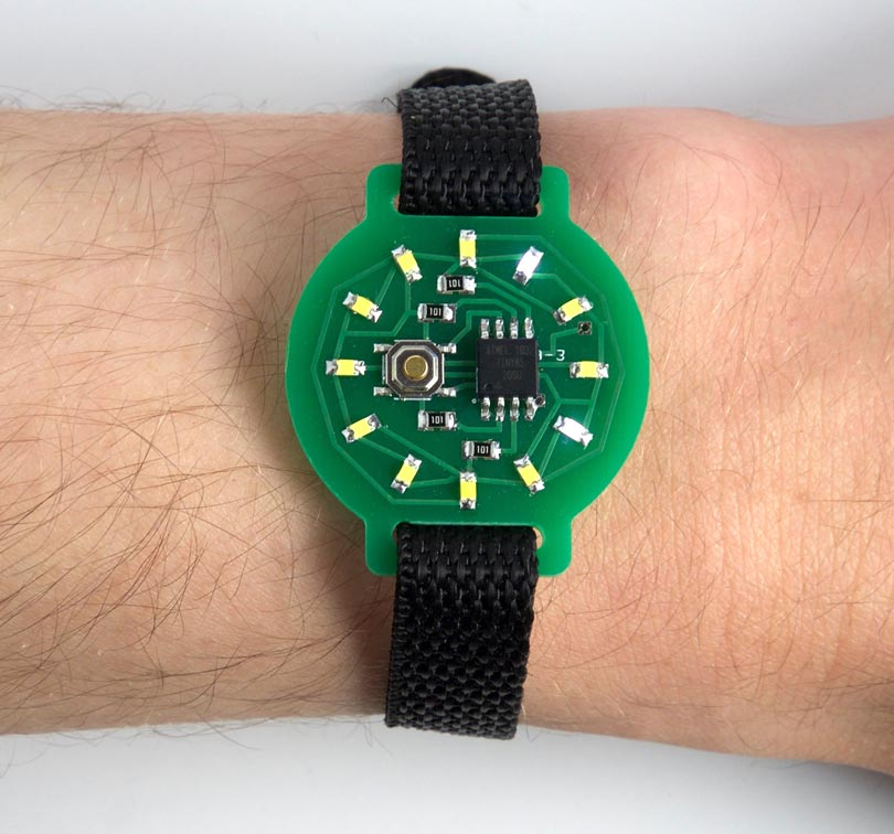 Tiny LED Time Watch