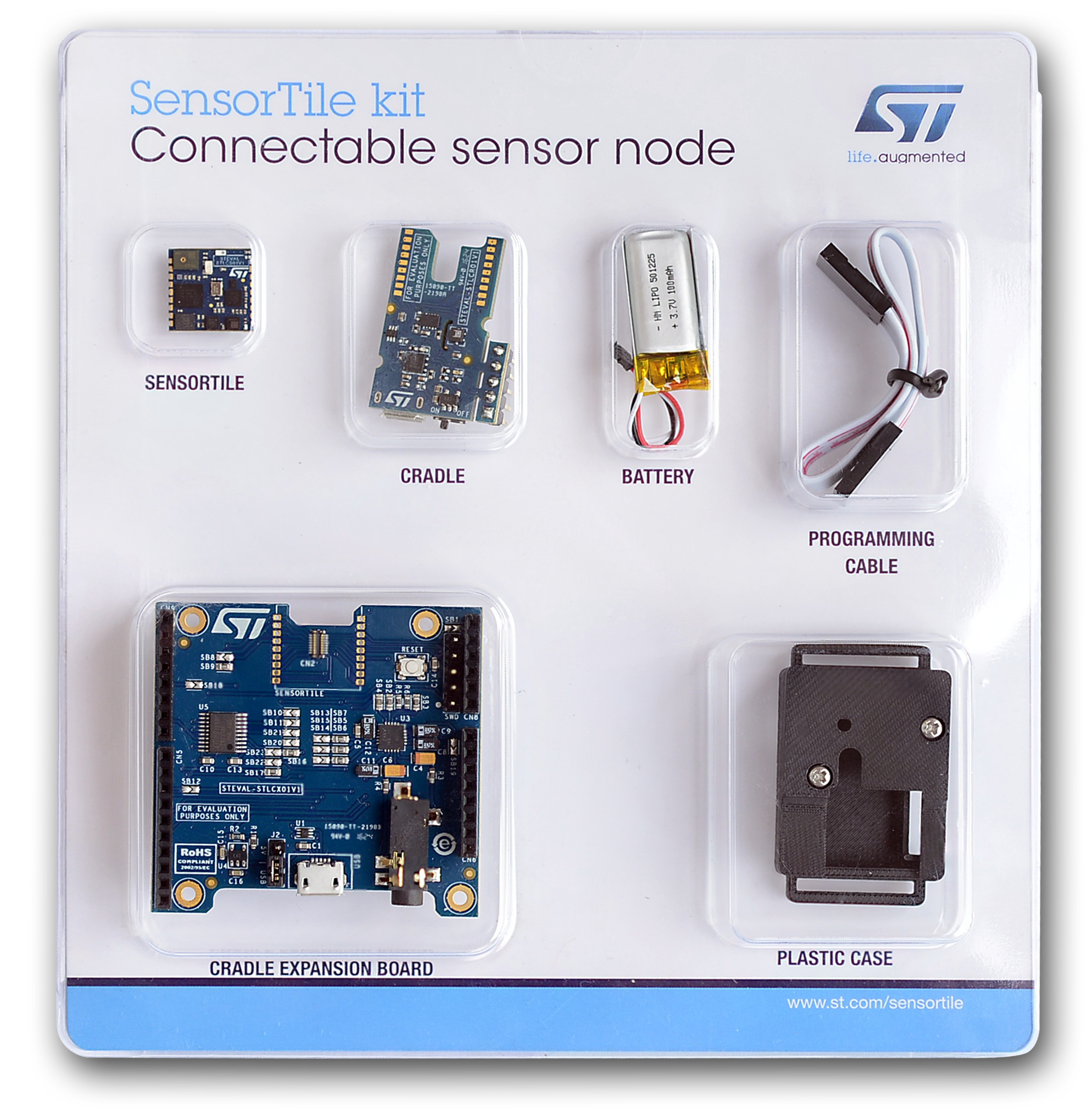 SensorTile, An Accurate Development Kit For Biometric Wearables