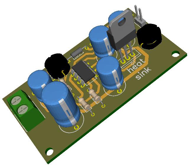 12v   80ma Transformerless Power Supply