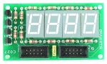 4 Digit 7 Segment 0.5″ Multiplexed Display Module
