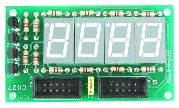 4 Digit 7 Segment 0.5″ Multiplexed Display Module
