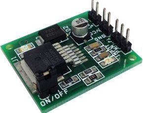 +9V to 60V PWM 2.3A Solenoid Valve Driver using DRV101